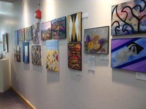 Art Cart Exhibition